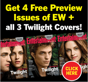 Why Is Entertainment Weekly So In The Tank For Twilight?