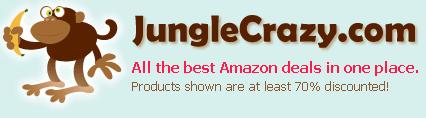 Find deep Amazon discounts with JungleCrazy.com