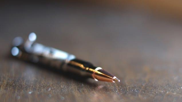 Camo Bolt-Action Pen Gallery