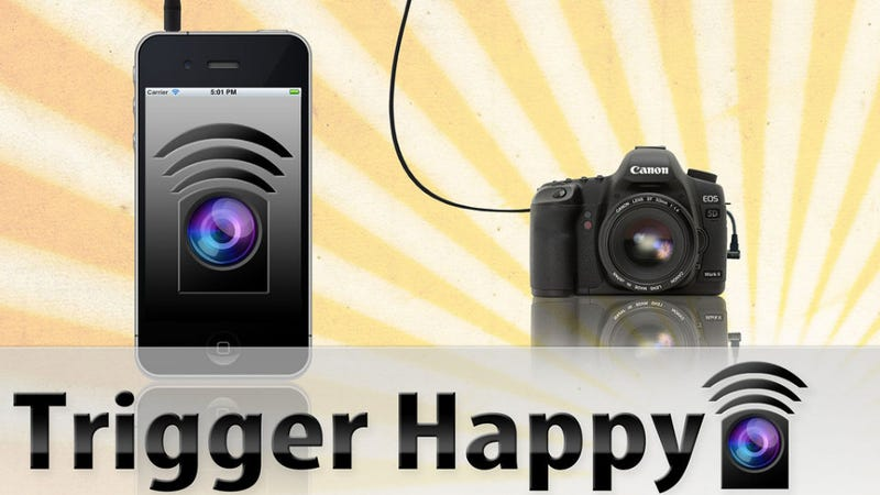 Smartphones Can Command DSLRs with the TriggerHappy Remote