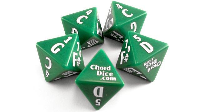 Roll and Rock: Musical Dice Relieve Songwriter's Block