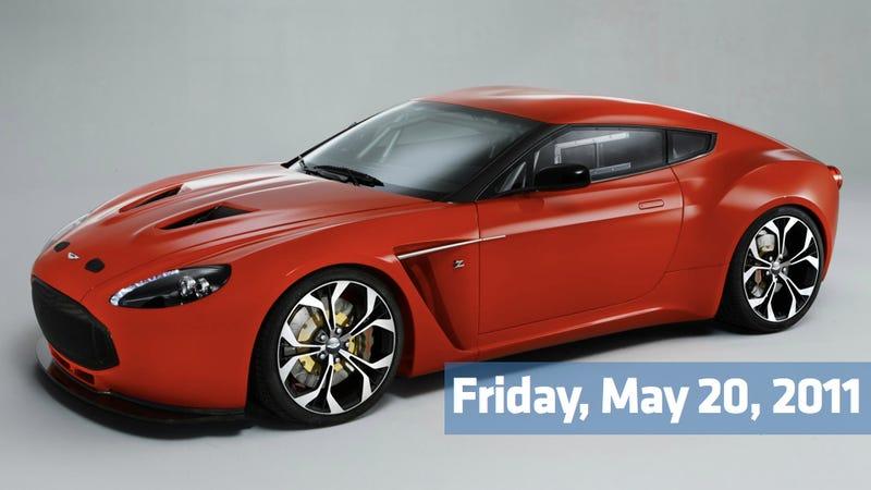 New Aston Martin Zagato V12, Murdoch circles F1, and the final air bag frontier