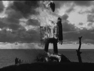 Come. It is time to keep your appointment with the Wicker Man.