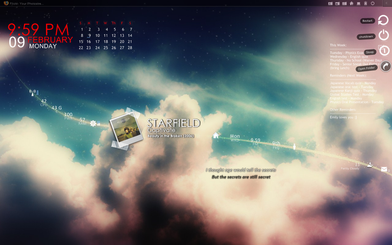 The Heavenly Desktop