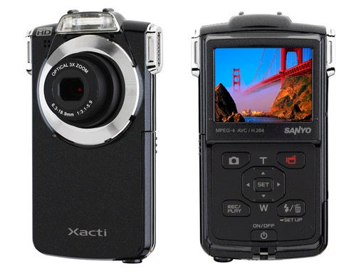 A Flip-Like Pocket Cam From Sanyo Does 1080p At 30FPS
