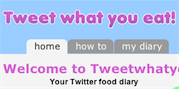 Track Your Eating Habits with Tweetwhatyoueat