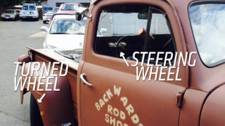 Truck Built 'Backwards' Still Works But Looks Really, Really Weird