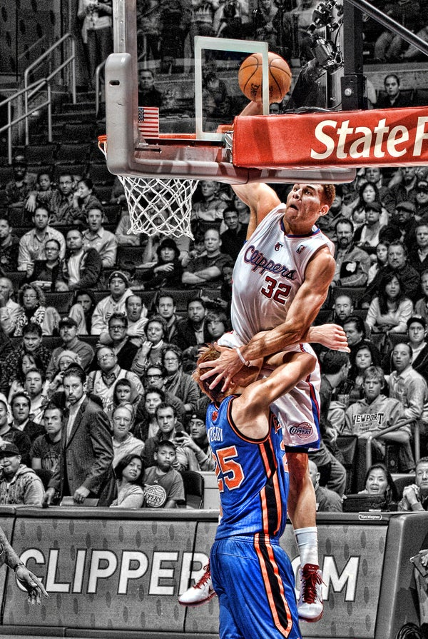 Last Night's Winner: Blake Griffin, Dunking Savior
