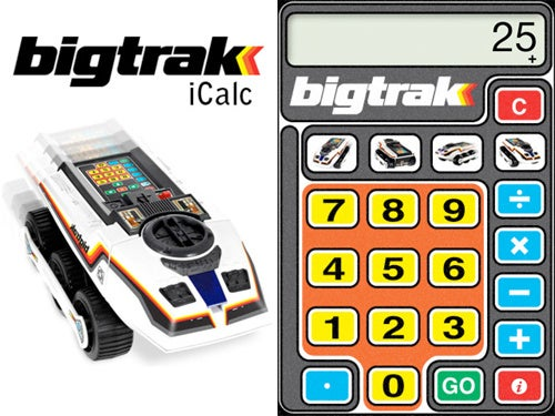 If You Couldn't Afford the '80s Bigtrak, Download the Free iPhone App Instead