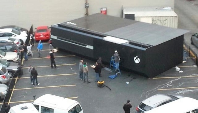 Here's An Xbox One The Size Of Fifty People