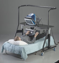 Ergoquest 500 Lets You Lie Down On The Job