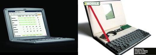 Palm Foleo vs. DIY Palm Pilot Notebook