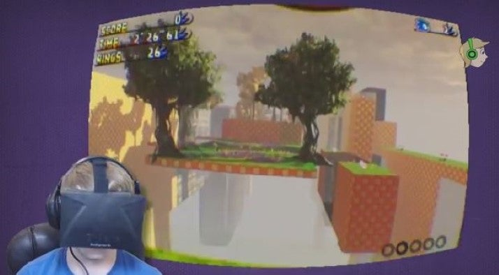 Sonic On The Oculus Rift Is A Recipe For (Awesome) Puking