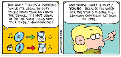 Foxtrot Comic Takes On DRM