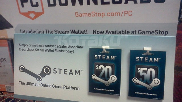 Steam Codes Are Now Officially Coming To GameStop