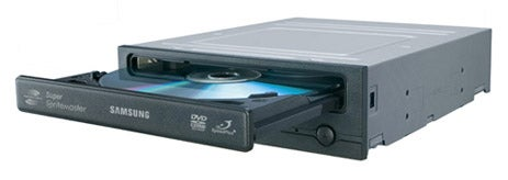 Samsung's SH-203N DVD Burner Burns Dual Layer at 16x