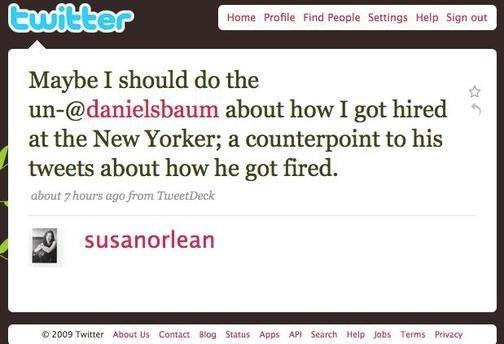 Dan Baum Still Twittering Away, Calls New Yorker Office 'Creepy'