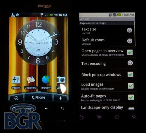 Motorola Droid and HTC Droid Eris Launching on November 6th