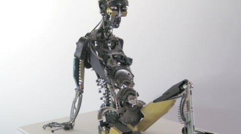 Recycled Robots Refuse To Resort To Type