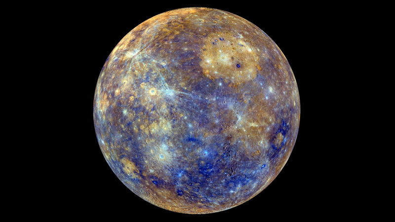 Mercury Sure Looks Good in Blue