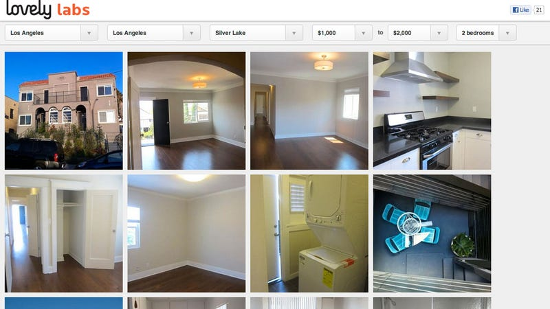 Lovely Offers Photo-Based Apartment Search Results for Quickly Identifying an Awesome New Pad