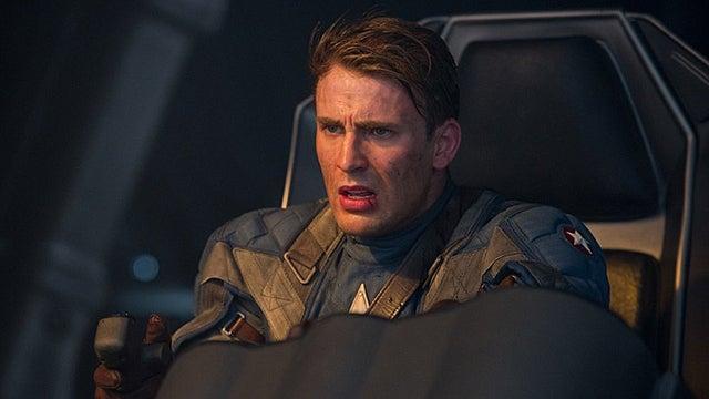 New Captain America photos