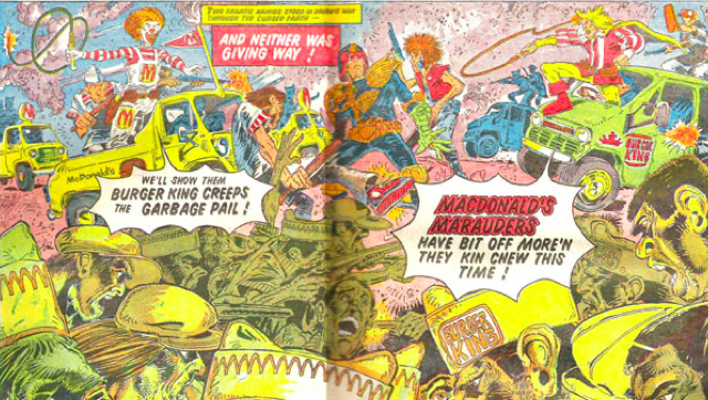 Fast Food is Bad for Comics, Says Judge Dredd