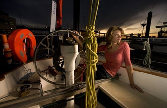 Teen's Try For Sailing Record Complicated By Mother, Competing Sailor