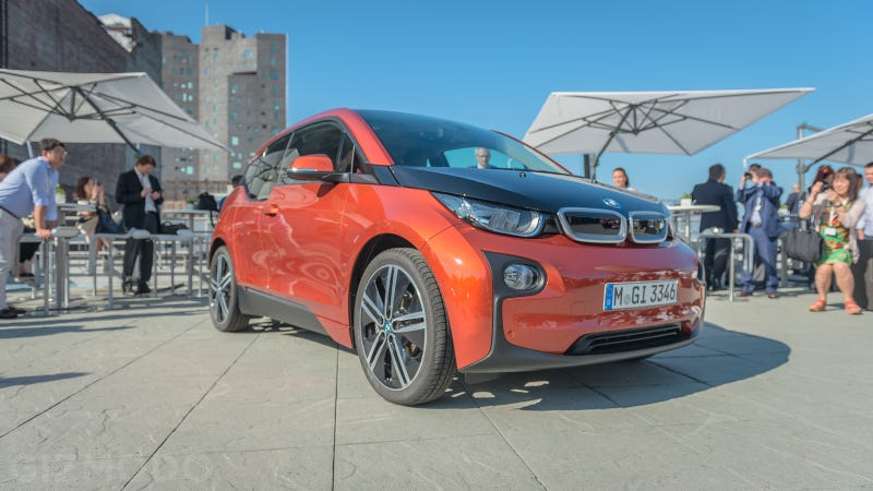 BMW's Electric i3: All Vroom, No Gas