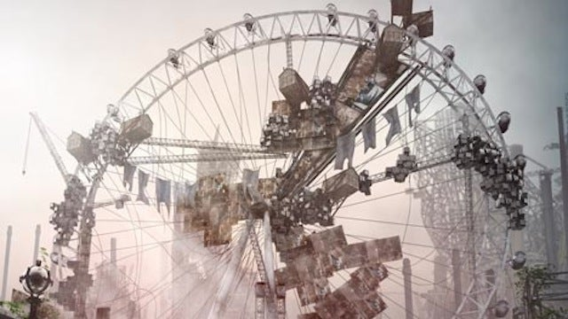 Computer-generated architecture creates an eerily photorealistic London post-apocalypse