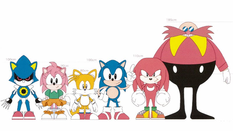 ​Who Sonic Is, According To Sega