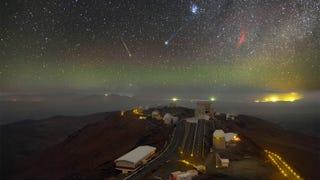 Seis fenómenos celestiales captados en una foto única