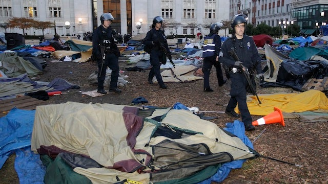 Riot Police Evict Occupy Oakland