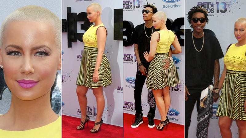 Cool Shoes, Hot Hair and Visible Nipples at the BET Awards