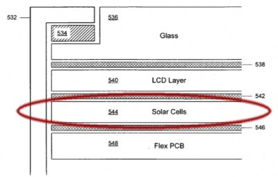 Apple Files Patent To Put Solar Cells on Portable Devices