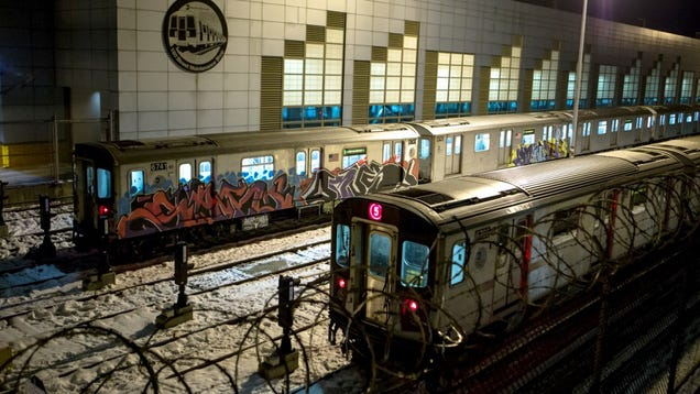 A Rare Look at the Graffiti-Covered History of NYC's Subway