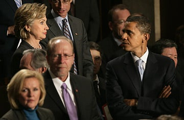 Inside the Media Matters, Clinton, Obama Love Triangle