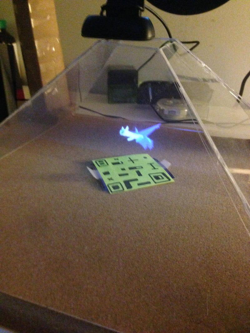 Fan Creates Awesome Holographic Pokémon Projections