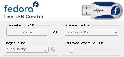 Fedora 9 Puts Your Desktop on a USB Drive