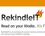 RekindleIT Instantly Sends Web Pages to Kindles