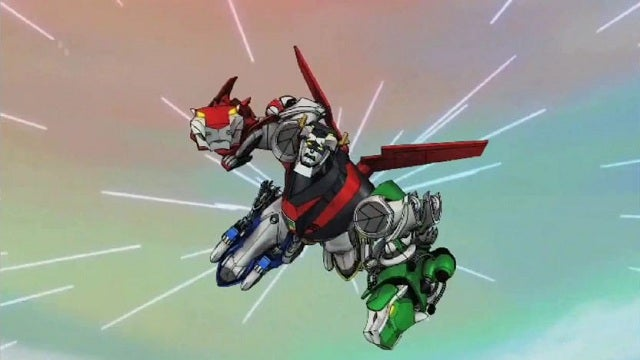 Everything you've ever wanted to know about the big cat robot Voltron