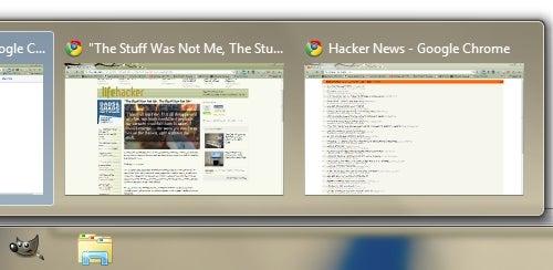 Use Chrome's Full Screen Toggle to Organize Its Windows Thumbnails
