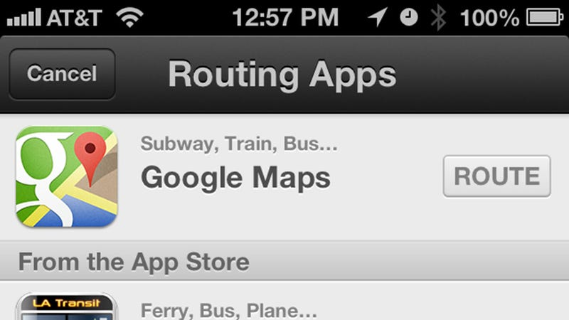 "Ask Siri for Directions ""via Transit"" to Use Google Maps Instead of Apple Maps"