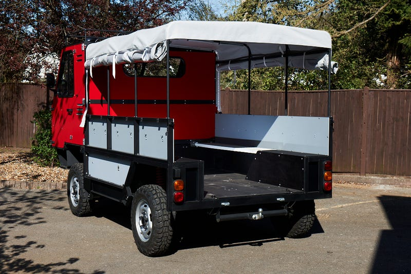 The World's First Flat-Pack Truck Can Be Assembled By Hand In 12 Hours