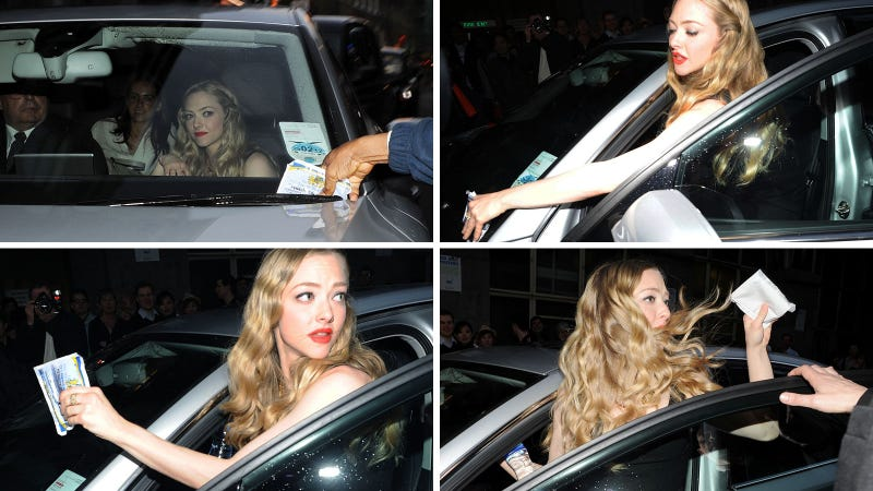 Amanda Seyfried Is Too Good to Pay Her Parking Tickets