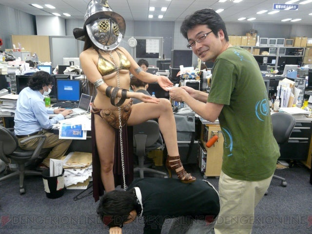 Bring Your Slave Gladiator Girl To Work Day