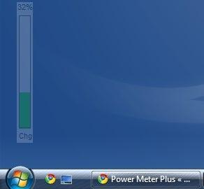 Power Meter Plus Puts Ambient Battery Meter on Your Desktop