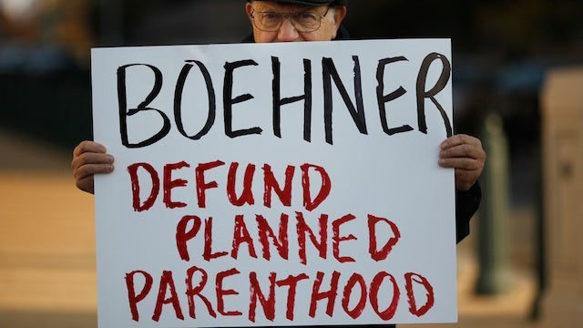 House Votes To Defund Planned Parenthood