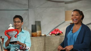 Braigo Creator Shubham Banerjee on Queen Latifah Show and a Surprise from Lego