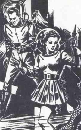 Badass Women of the Pulp Era